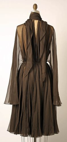 Cocktail dress - Madame Gres - 1960;s + - Back view,