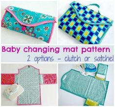 Baby changing mat - 2 options