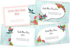 Free Vintage Buisness Cards by Free Pretty Things For You!, via Flickr