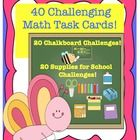 I bundled 3 math task card products from my store! These review the basics! Some more challenging than others! Fun and engaging!  164 task cards fo...