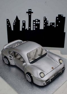 Porsche Cake by Verusca's Cake, via Flickr
