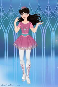 Disney doll by SaphyraLynn. Princess Cartoon, Ice Princess, Disney Princess, Azalea Dress Up, Time Cartoon, Doll Divine, Princess Collection, Dress Up Dolls, Disney Dolls