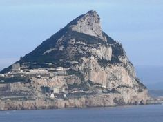 The Pillars of Hercules( Rock of Gibraltor) Europe meets Africa