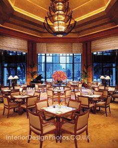 Restaurant design - Hotel The Peninsula, Bangkok - Thailand №91010052  in Art Deco style