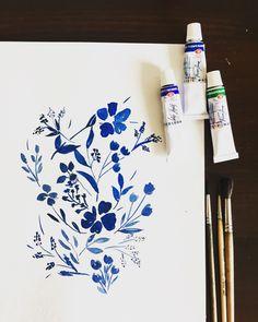 Blue flowers, 2017 #flowers #blue