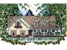 Build your ideal home with this Cottage house plan with 3 bedrooms(s), 2 bathroom(s), 1 story, and 1865 total square feet from Eplans exclusive assortment of house plans.