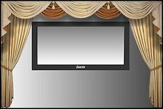 HOME THEATER DECORATIVE CURTAINS