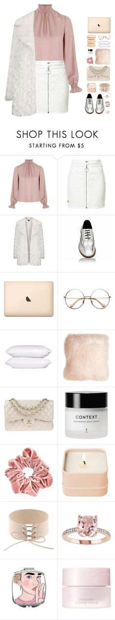 """""""CHIC"""" by lanadelnotyou ❤ liked on Polyvore featuring Related, Philipp Plein, Topshop, Mikimoto, Pillow Decor, Chanel, Henri Bendel and SUQQU"""