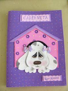 princesa disney em eva caderno decorado - Pesquisa Google