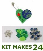 Love Earth SWAP. Very easy to do yourself. Perfect for the Forever Green Campaign.