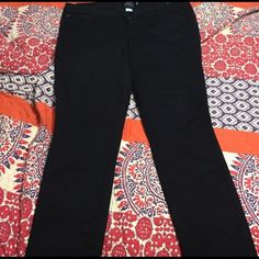Black denim from Torrid Average length, size 16. Great condition!  torrid Jeans Boot Cut