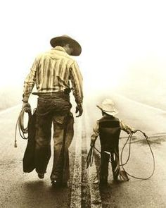 one day ill have a lil bullrider and him and his bullrider daddy will take a pic like this
