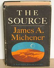 Granted, James Michener books are like a trillion pages long...but most of them are worth it.  This was the first book of his that I read....and still my favorite.