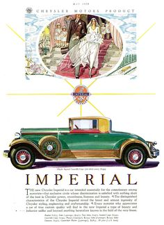 1930 Chrysler Imperial Convertible Coupe