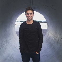 Sandy Beales, the band's bassist in Oslo Norway Oslo, Becca, Old Friends, Norway, Fangirl, Men Sweater, Tours, Instagram Posts, Fan Girl