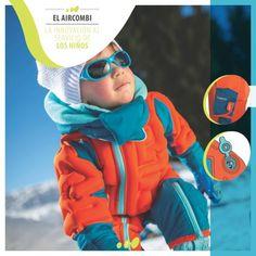 #Wed'ze presenta el primer conjunto de esquí para bebé de calor variable. #decathlon
