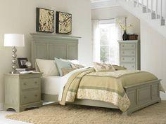 Sage green bedroom set