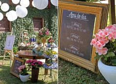 Decora��o Mini Wedding � Almo�o de Domingo