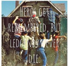 The Sandlot ~ may or may not have quoted this movie in my SAT essay...