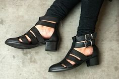 How S.F. Gals Do Footwear #refinery29