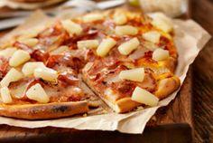 Quickie Hawaiian Pizza