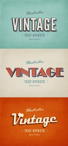 Dozens of FREE Photoshop Text Effects