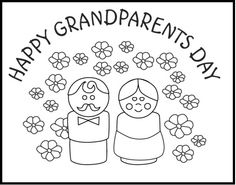 free great grandparents day coloring pages 2013