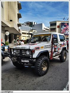 4x4 Borneo Safari 2009 Flag Off - Toyota Landcruiser BJ73 | Flickr - Photo Sharing!