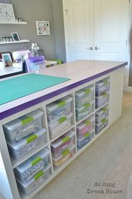 de Jong Dream House: DIY Craft Table