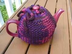 Ravelry: Seed Stitch Tea Cozy pattern by Christina Knight Seed Stitch, Tea Cozy, Ravelry, Knight, Seeds, Crochet, Pattern, Projects, Inspiration
