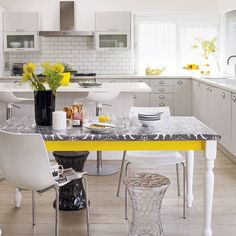 painted kitchen tables and chairs ideas | How Should I Paint My Kitchen Table? | eHow.com