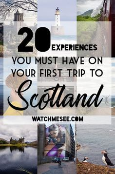 Planning a trip to Scotland is a daunting task especially when its your first time You could begin by locking down dates or mapping out a route but this list of things t. Scotland Vacation, Scotland Road Trip, Scotland Travel, Ireland Travel, Visiting Scotland, Glasgow Scotland, Italy Travel, Inverness, Sightseeing London