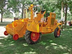Minneapolis-Moline Self-Propelled Square Baler