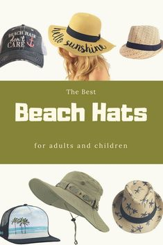 Best Beach Hats for Adults and Children — beaches, booze, and bungalows Men Beach, Beach Kids, Beach Fun, Diy Fashion, Womens Fashion, Beach Quotes, Hats For Men, Bungalows, What To Wear