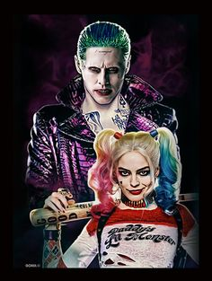 Suicide Squad: Joker and Harley by GOXIII