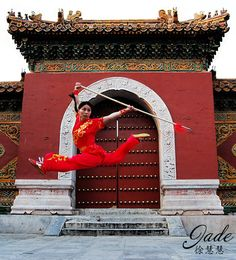 JADE XU - http://www.jadexu.com/photo/martial-arts/ Martial Arts - Martial Arts Actress & Wushu World Champion