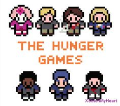 The Hunger Games Cross Stitch Pattern PDF by XStitchMyHeart, £2.50