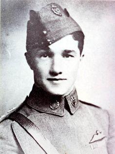 Capt Albert Ball VC   1917; France Born in Nottingham I do believe.
