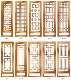 unlimited versatility in a tasteful jacket – Door Ideas Wooden Window Design, Window Grill Design Modern, Grill Door Design, Gate Design, Chinese Interior, Japanese Interior, Chinese Door, 3d Templates, Sliding Door Design