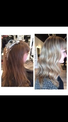 Balayage and Babylights done by Abigail #rpsthesalon #hair #balayage #babylights #blonde