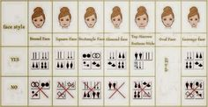 Street Fashion: Face Types Earrings Amazi