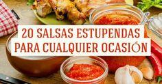 Sabrosas salsas que puedes cocinar enlugar decomprarlas preparadas