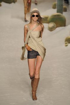 Hermes spring 2009 ready to wear collection.