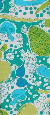 Lilly Pulitzer Steamed ((Vegetable Fruit)) Fabric