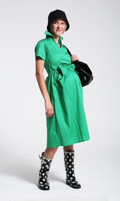 € 49.00 Green with Envy Maternity Dress  Purchase Here   http://www.hautemama.ie/maternity-wear/maternity-dresses/green-with-envy-maternity-dress.html