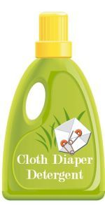 Detergent chart: compares detergents for use with cloth diapers