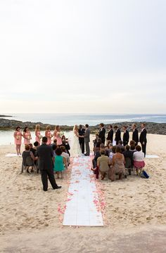 Wedding Ceremony @ Atlantis, Paradise Island, Bahamas
