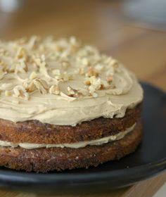 Marias Salt & Søtt | Kake med valnøtter og kaffe - Marias Salt & Søtt