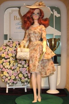 Day At The Races Silkstone Barbie   Day At The Races Silkstone Barbie Doll at Toy Fair 2006