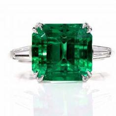 f0dfe12a41cd8d Remarkable Certified Colombian Emerald Diamond Platinum Ring. Platinum Diamond  RingsEmerald DiamondColombian EmeraldsEmerald JewelryAntique Engagement ...